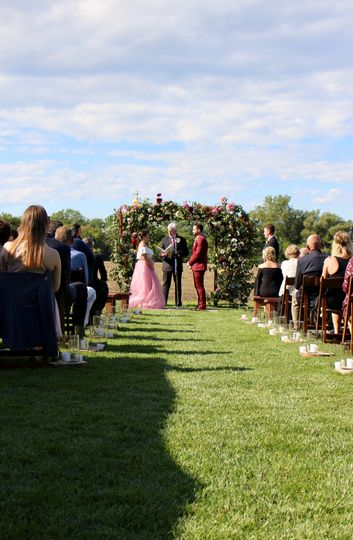 On-site ceremony