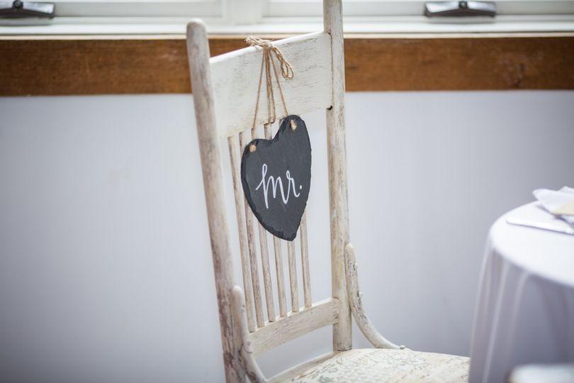 Groom's seat