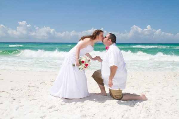 Get a little sand in your soul, get married barefoot on the beach in Destin Florida!