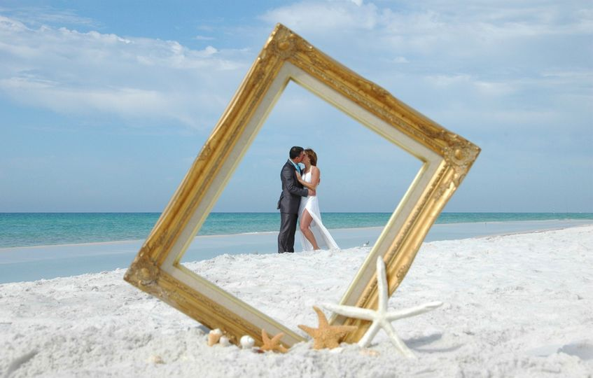 Intimate, romantic, affordable barefoot beach weddings
