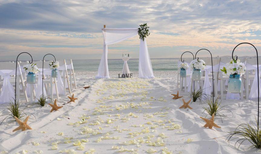 Barefoot Bliss Beach Wedding Package