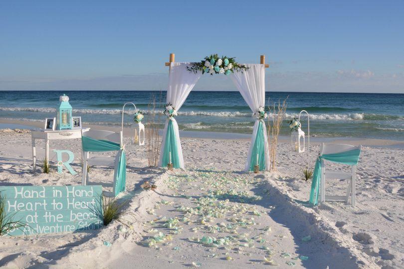 Custom Florida destination beach wedding packages available!