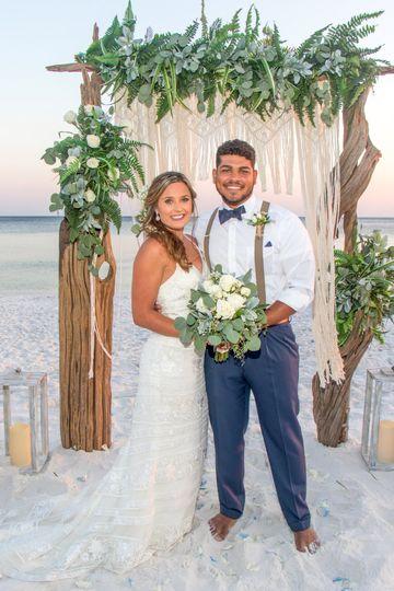 florida barefoot beach wedding 1 51 128079 160451164386600
