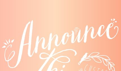 Announce This! Wedding Stationery & Custom Designs 1