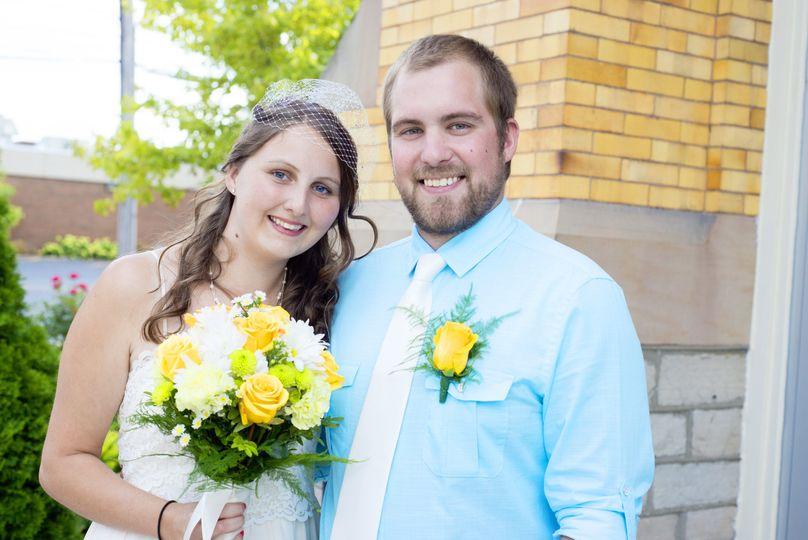 The Rushworth-Gundy wedding
