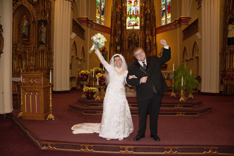 The Kleman wedding