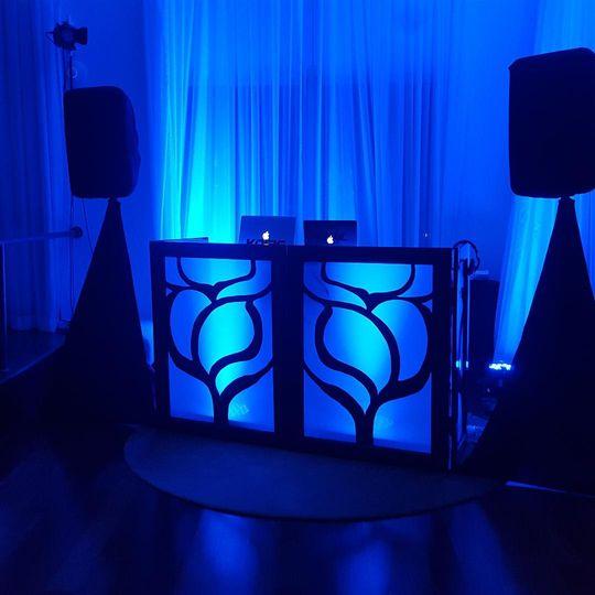 Designer DJ Booth