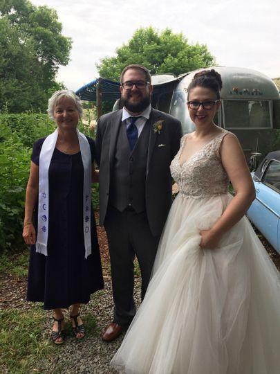 With Karen & Jason
