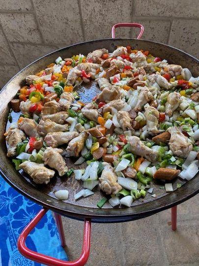 Chef Tim's Paella