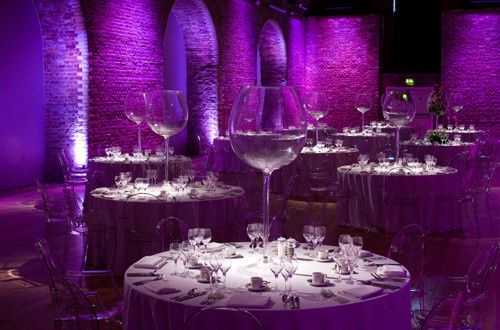 the great halls wedding venue lighting