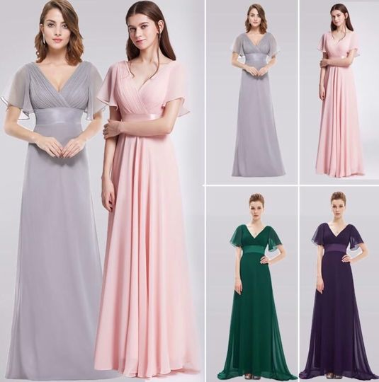 Selection of bridesmaid dress colors