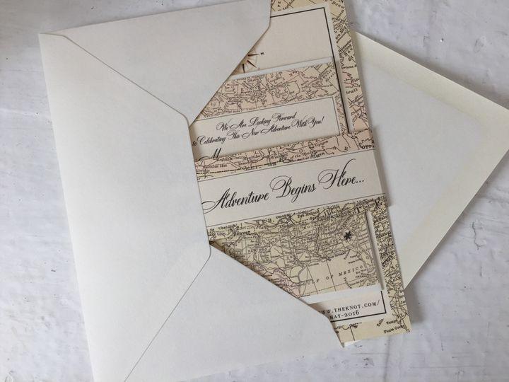 Invitation and envelope