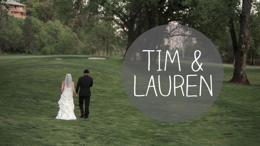 Tim & Lauren's wedding in Redding, CA at Riverview Golf Course.
