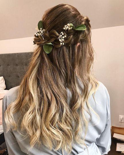 A beautiful look