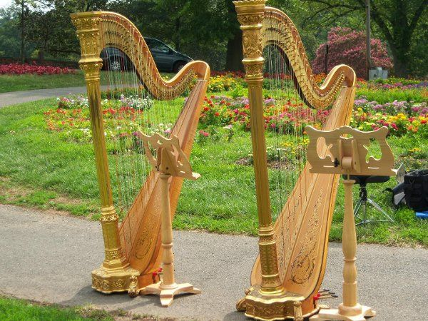 Duo harps at the Iwo Jima Memorial