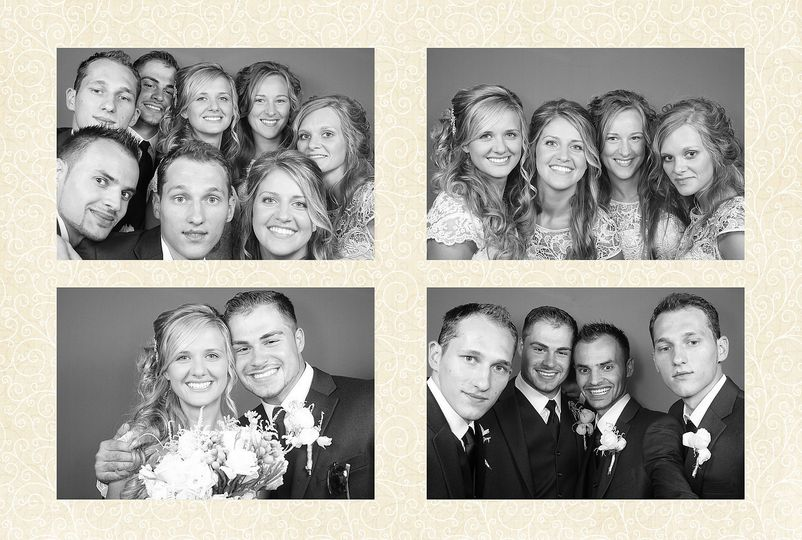 We have an option of 4x6 photo print instead of the traditional 2x6 photo strip.