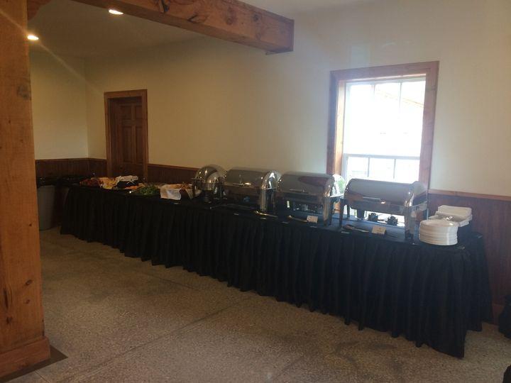 Reception at dooley's chapel