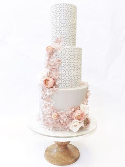 Baby pink cake