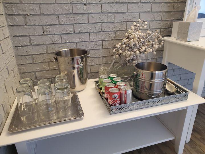 Bridal Suite Refreshments