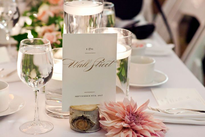 Table label