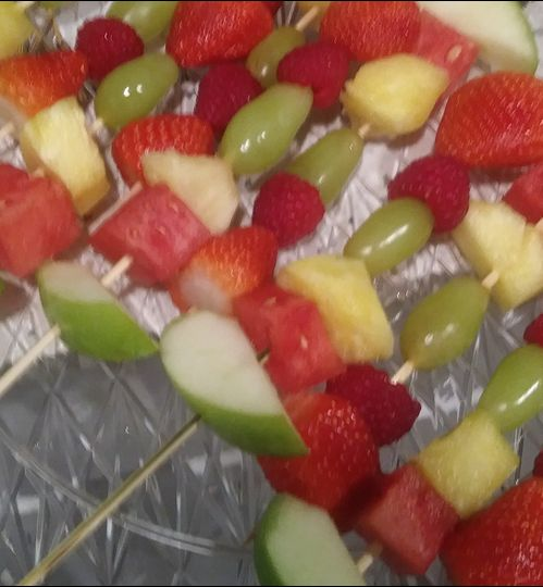 Fruits on a stick