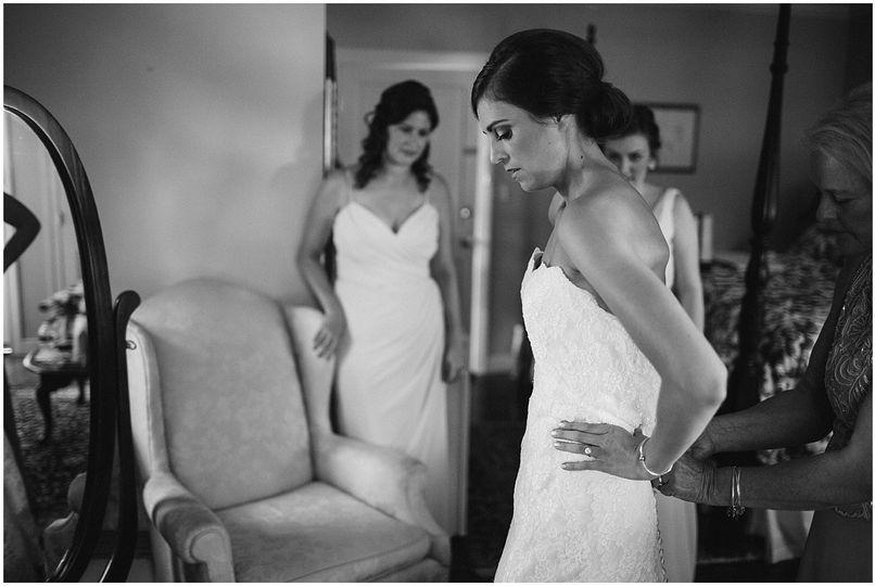 waterfront wedding kent manor inn stevensville tar