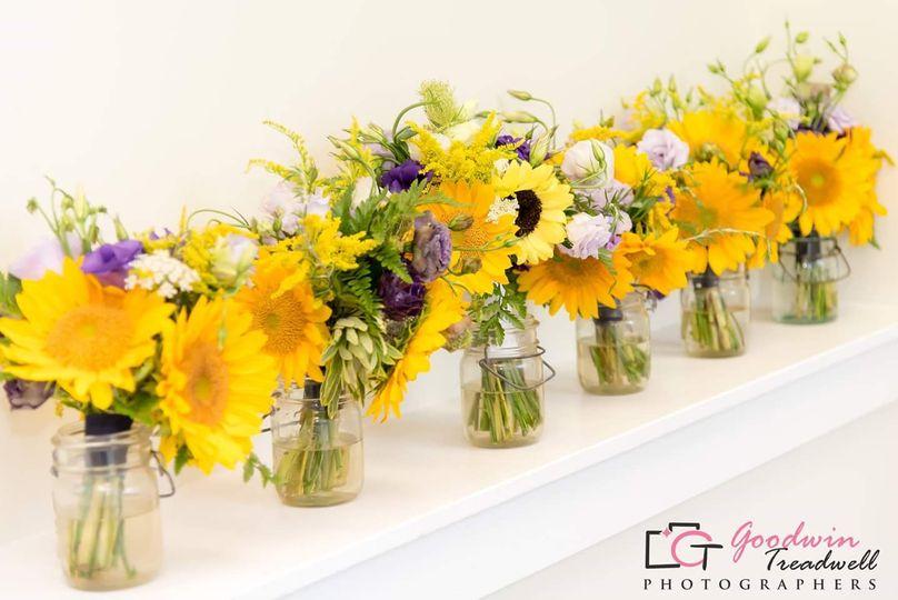 Vibrant bouquets