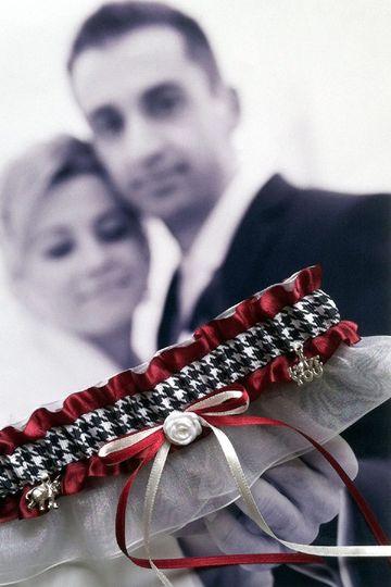 Alabama Roll Tide...wedding & toss garters