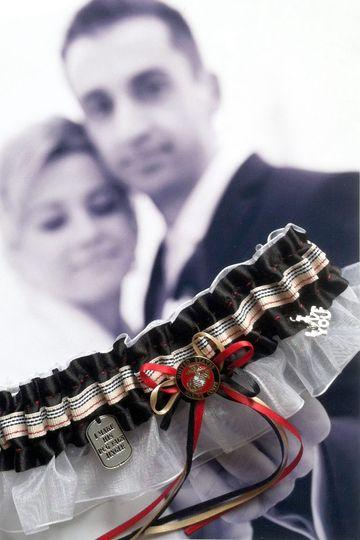 US Marine Oorah...wedding & toss garters