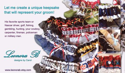 LeonoraB custom garters