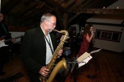 Bill Harris on Saxophone