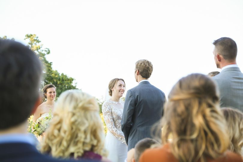 Exchanging vows - Brea Photography