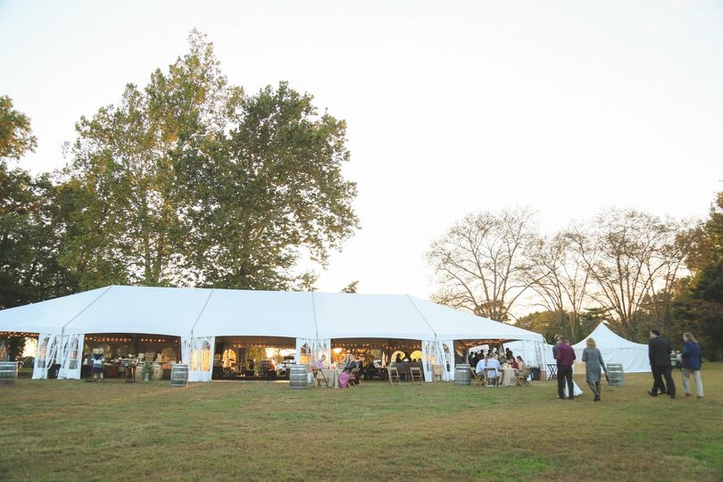 Outdoor event space - Brea Photography