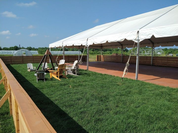 Our White Tent