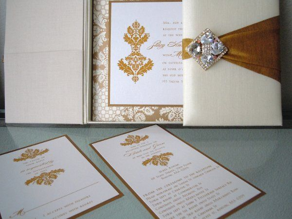 Silk Wedding Invitation Boxes available in any color and custom design