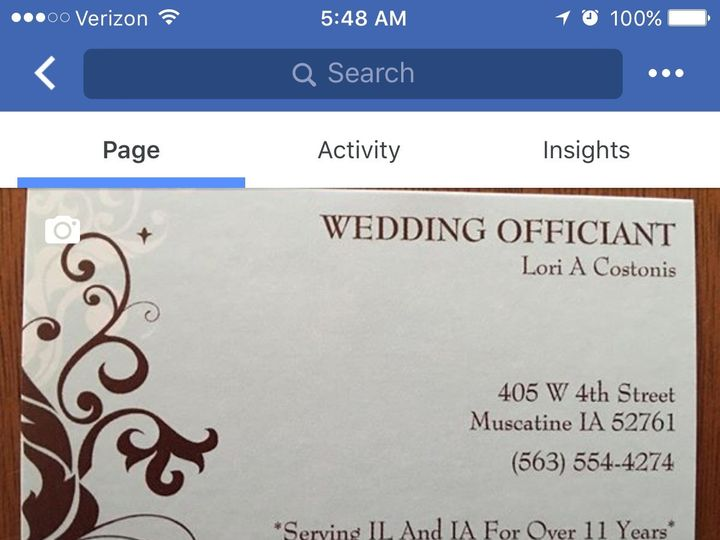 Tmx 1508966930328 487ca902 D8a9 4890 Aa46 Ad1053099390 Muscatine wedding officiant