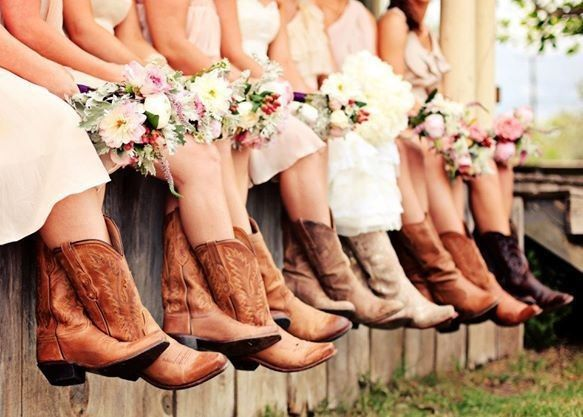 pendrey house wedding boots
