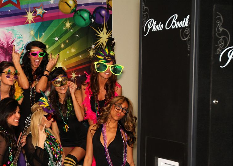 photo booth in action