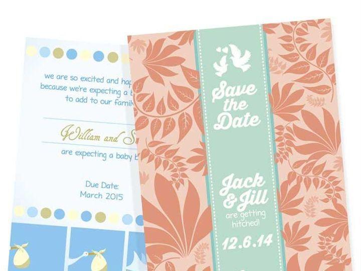 Tmx 1465996143 564fec039e62c46d PR Announcements 02 East Rochester, NY wedding invitation
