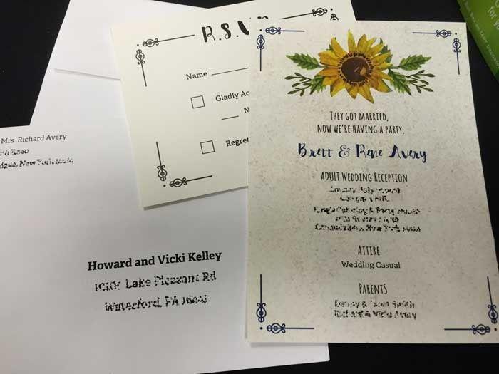 Tmx 1466101601154 Img1788web East Rochester, NY wedding invitation