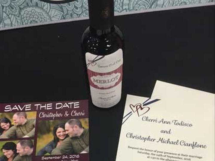 Tmx 1466529040650 Img1764web East Rochester, NY wedding invitation