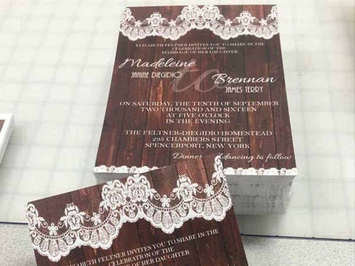 Tmx 1466529062070 Img1841web East Rochester, NY wedding invitation