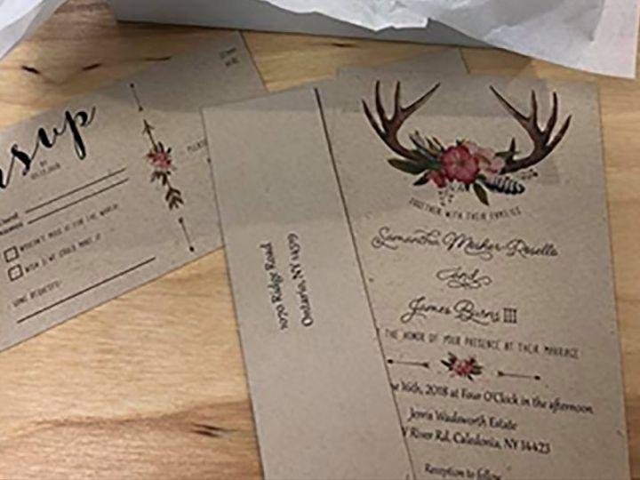 Tmx Invite 14 51 930279 1566566278 East Rochester, NY wedding invitation