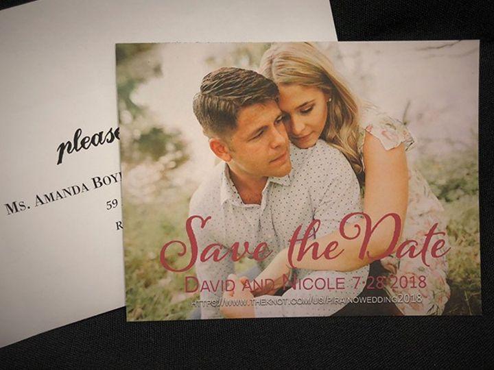 Tmx Invite 17 51 930279 1566566279 East Rochester, NY wedding invitation