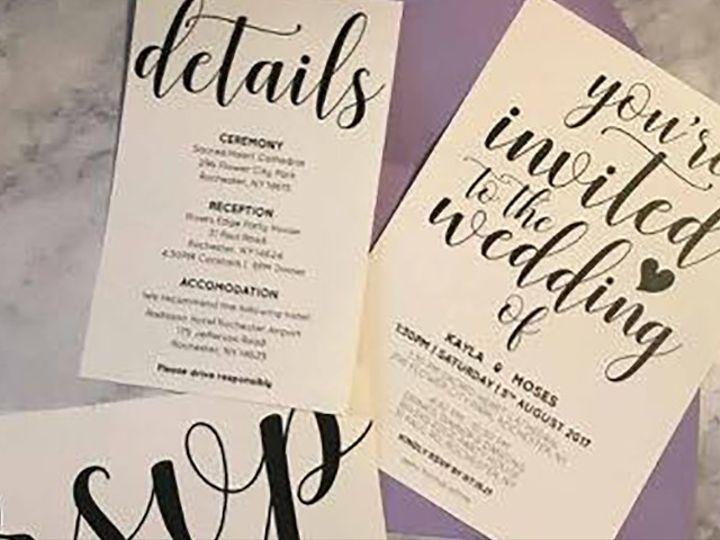 Tmx Invite 22 51 930279 1566566281 East Rochester, NY wedding invitation