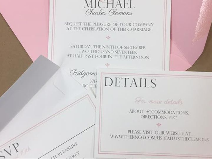 Tmx Invite 23 51 930279 1566566281 East Rochester, NY wedding invitation