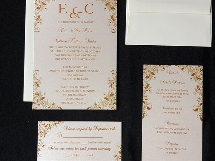 Tmx Invite 2 51 930279 1566566270 East Rochester, NY wedding invitation