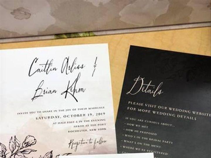 Tmx Invite 5 51 930279 1566566276 East Rochester, NY wedding invitation