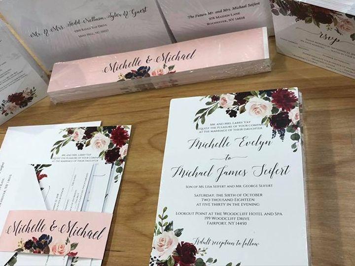 Tmx Invite 9 51 930279 1566566275 East Rochester, NY wedding invitation