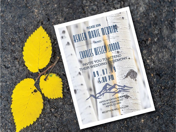 Tmx 834493f9 Bbe6 4747 8f33 3cd0863de329 51 1031279 1571004586 Littleton, Colorado wedding invitation